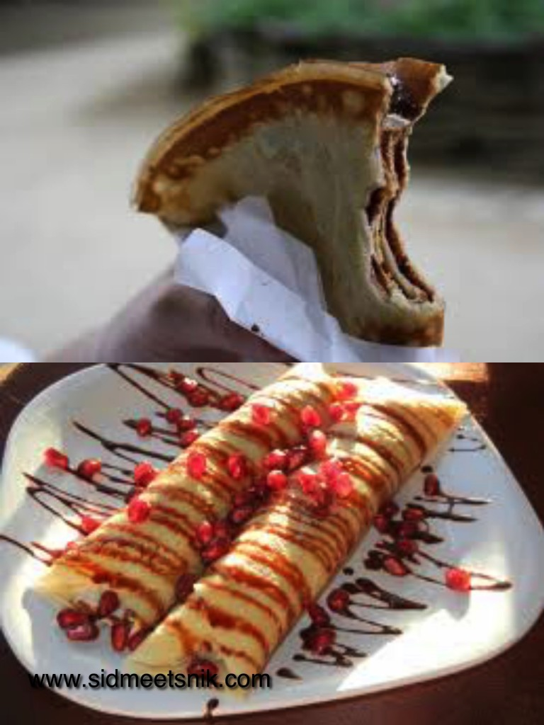 5 must have foods in Paris, crepes