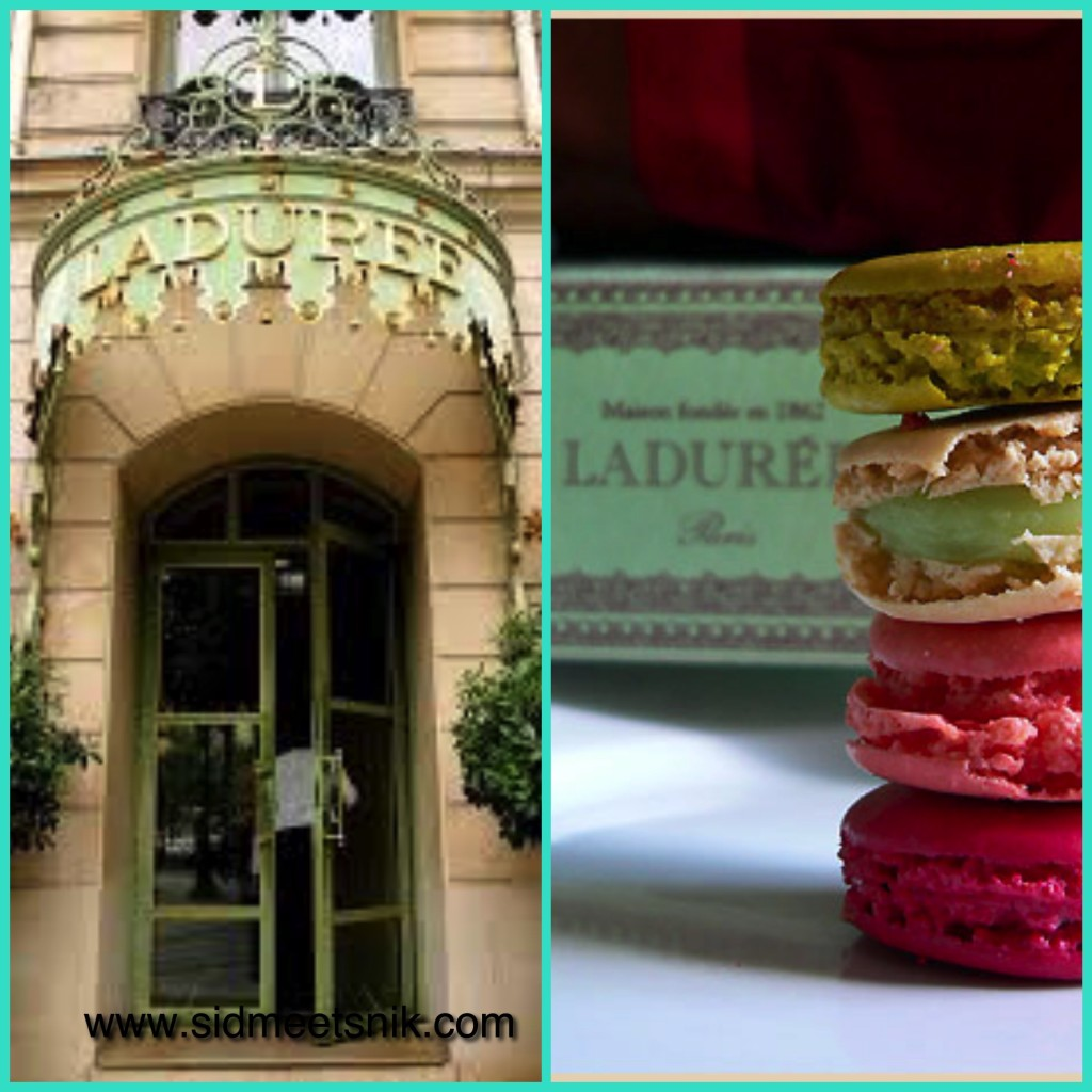 5 must have foods in Paris, macaroons, laduree