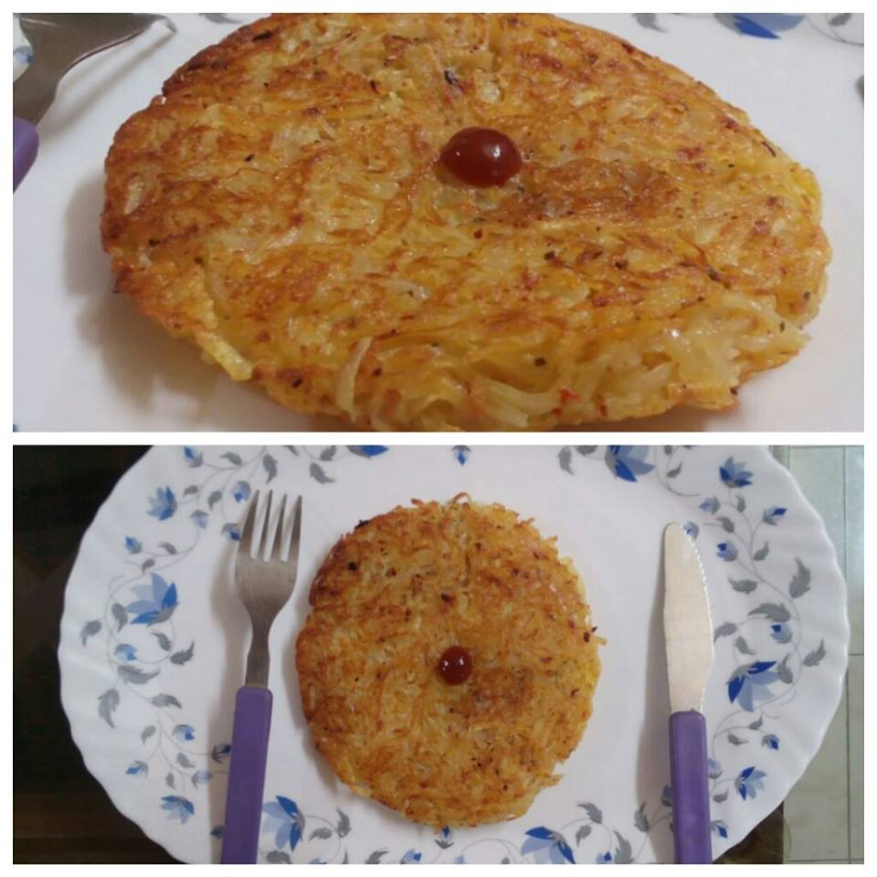 Rosti, a swiss dish