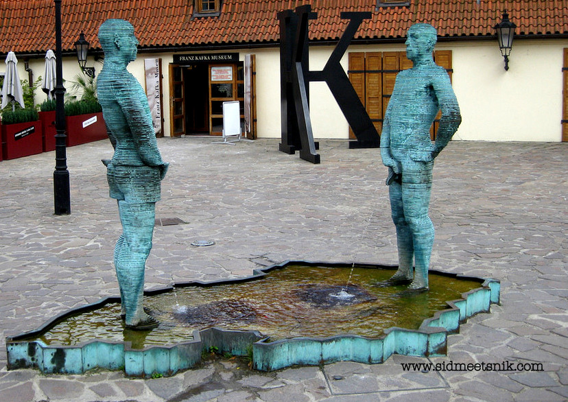 6 Quirky and offbeat places in Prague, Proudy fountain,Kafta Museum