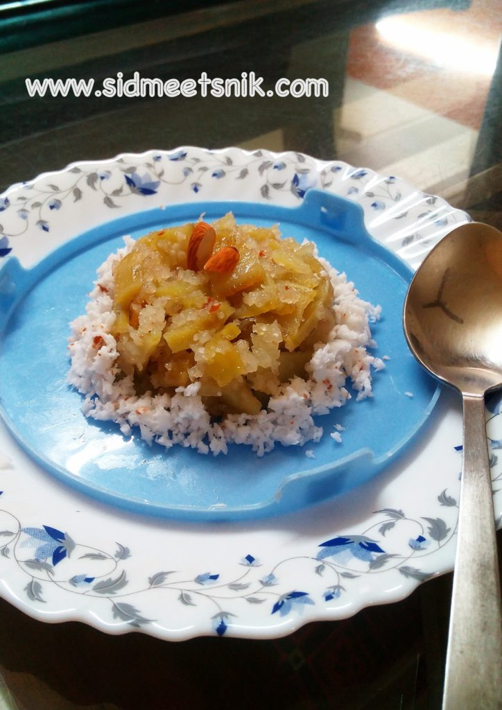 Sweet potato halwa,sweet potato dish